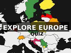 Location of European countries  Quiz