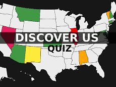 Location of United States countries | Quiz