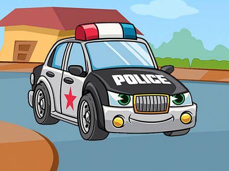 Police Cars Jigsaw