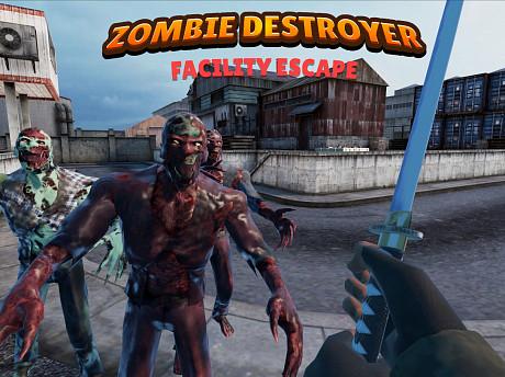 Zombie Destroyer: Facility escape