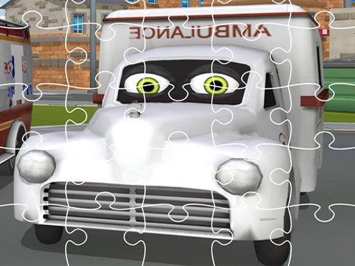 Ambulance Trucks Jigsaw