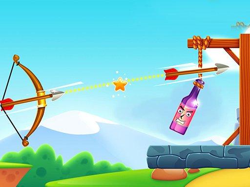 Archery Bottle Shoot