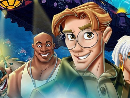 Atlantis The Lost Empire Jigsaw Puzzle Collection