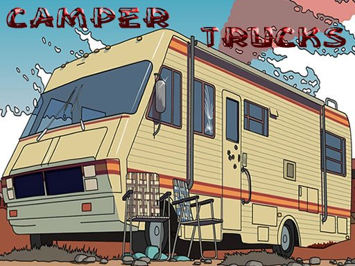 Camper Trucks Jigsaw