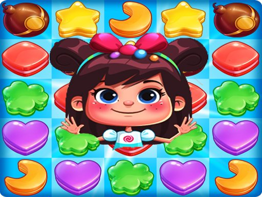 Candy Cookie Rush Match 3 Sweet Legend bomb fever