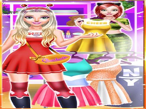 Cheerleader Magazine Girls Dress Up
