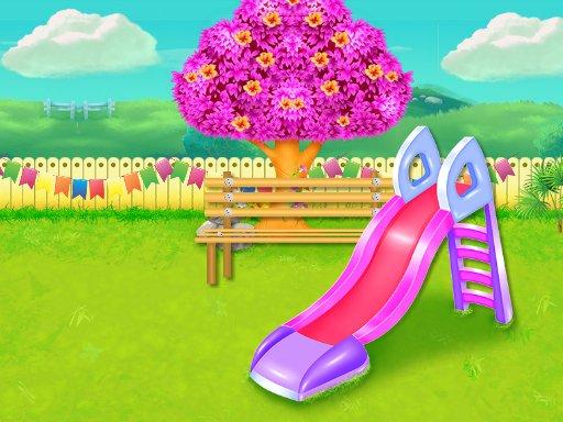 Childrens Park Garden Cleaning