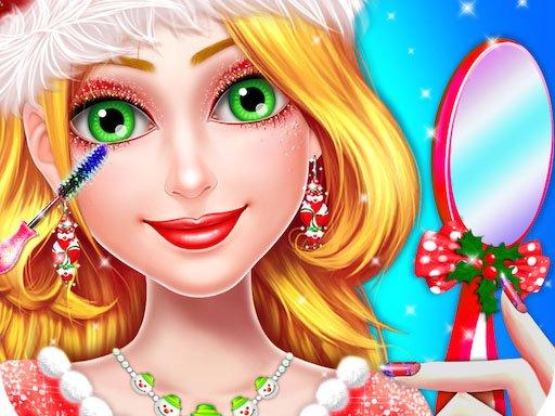 Christmas Girl Makeover Game Christmas Girl Games