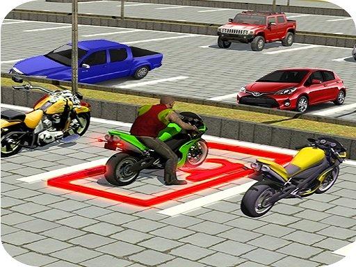 City Bike Parking Game 3D