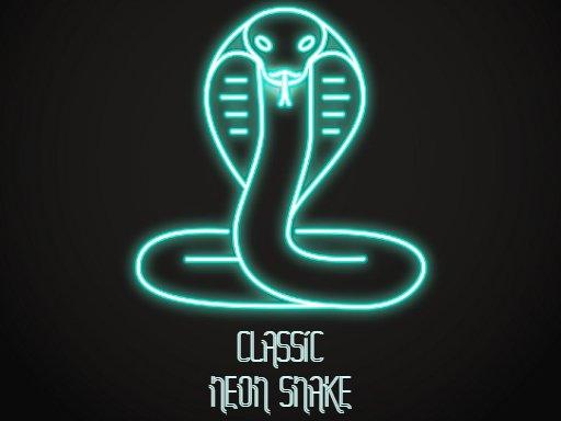 Classic Neon Snake
