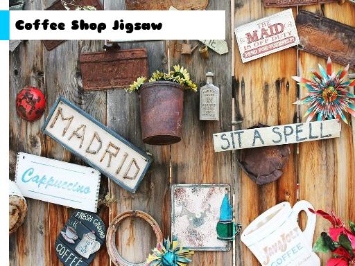 Coffee Shop Jigsaw