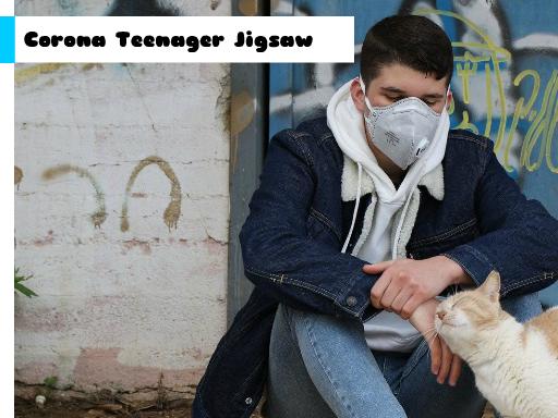 Corona Teenager Jigsaw