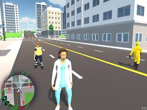 CoronaVirus Crazy Doctor Simulator