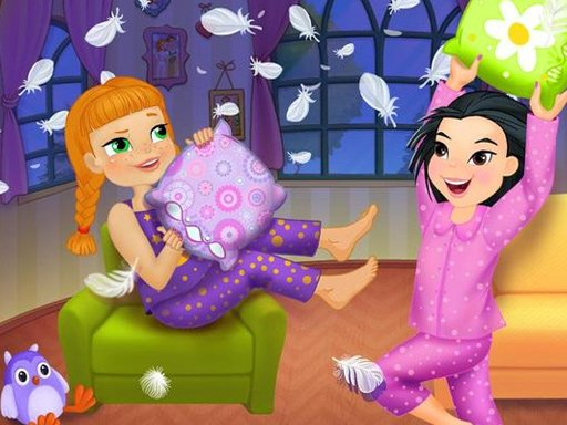 Crazy Pillow Fight Party