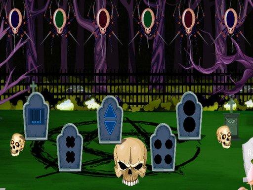 Dark Cemetery Escape