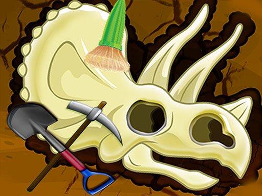 Digging Games  Find Dinosaurs Bones
