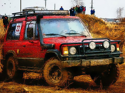 Dirty OffRoad Vehicles Jigsaw