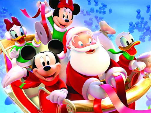 Disney Christmas Jigsaw Puzzle