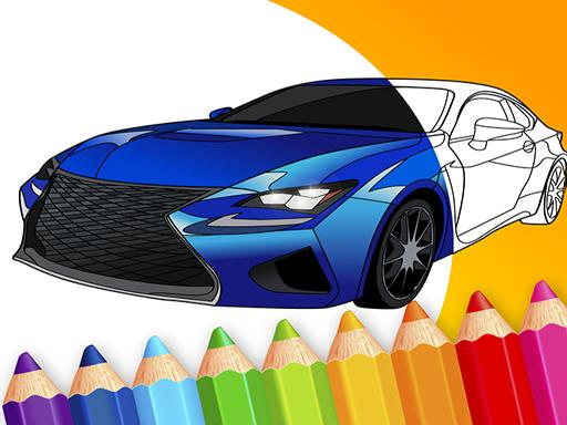 draw Car  Japanese Luxury Cars Coloring Book