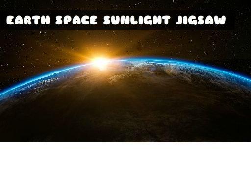 EARTH SPACE SUNLIGHT JIGSAW