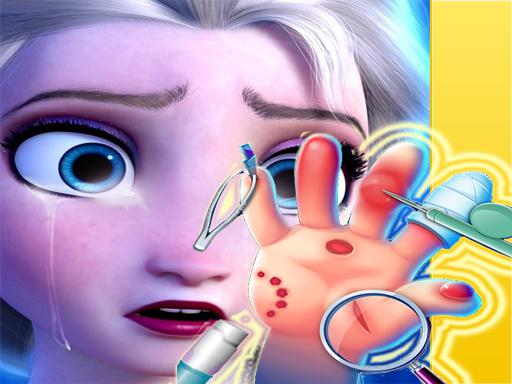 Elsa Hand Doctor  Fun Games for Girls Online