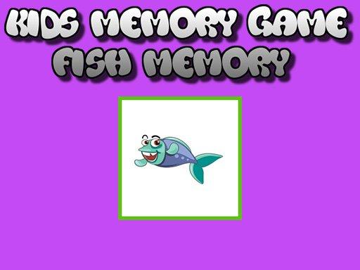 Fish Memory  Kids Learning Games