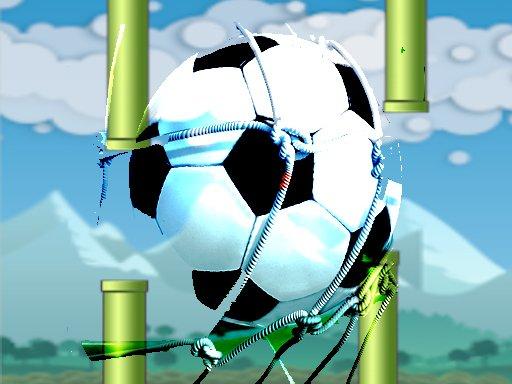 Flying football Flapper Soccer Game