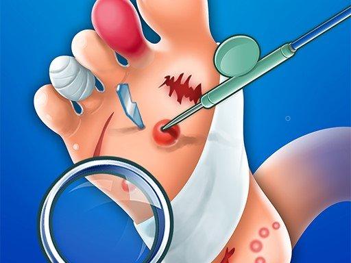 Foot doctor game simulator