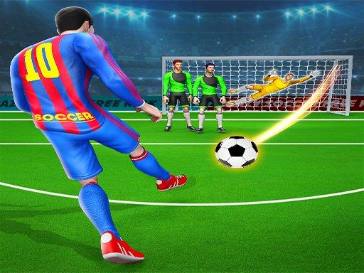 Football Strike penalty  Soccer Games