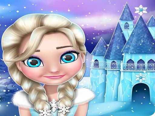 Frozen elsa Princess Doll House Games online