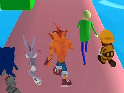 Fun Race 3D  Crash Bandicoot