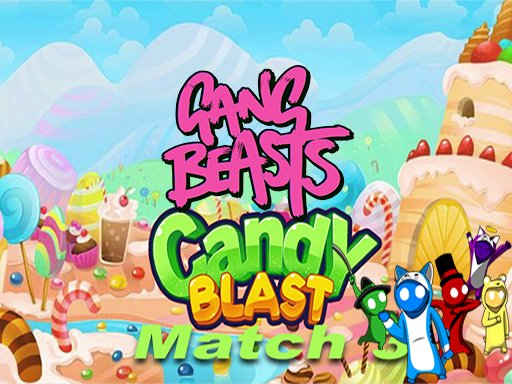 gang beast Candy Match 3 Puzzle Game