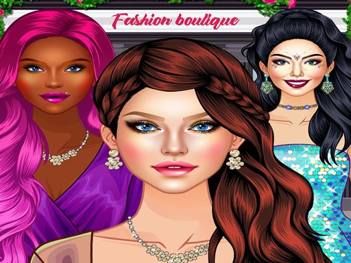 Glam Girl Fashion Shopping  Makeup and Dressup