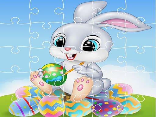 Happy Easter Jigsaw