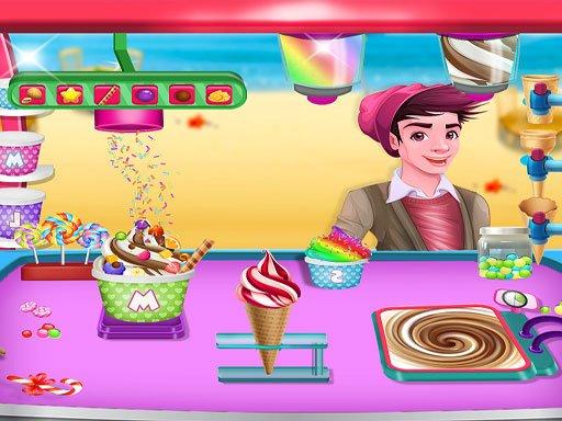 Ice Cream Maker  Make Sweet Frozen Desserts