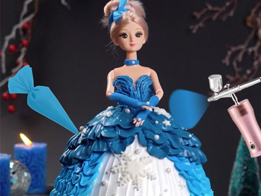 Icing On Doll Cake