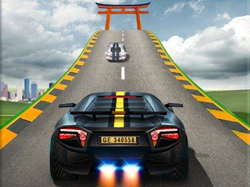 Impossible Car Stunts  Mega Car Ramp