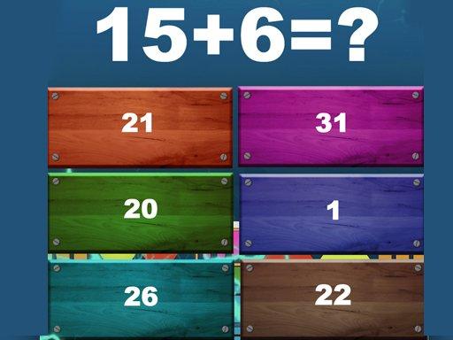 Insane Math Game