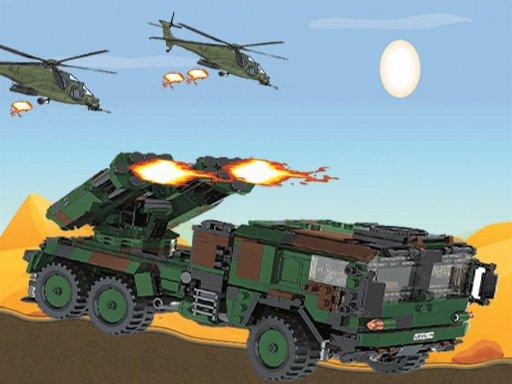 Jeu De Conduite De Camion DAttaque De Missiles
