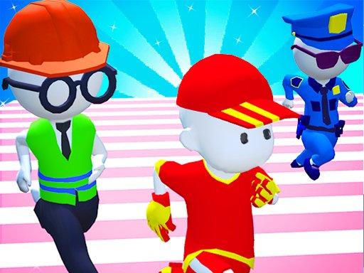 Knockout Fall Guys 3D Run  Royale Race
