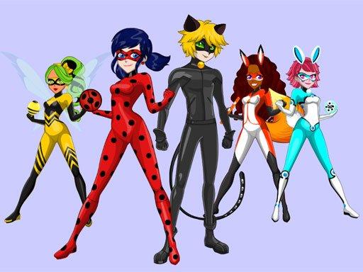 Ladybug  Cat Noir Maker
