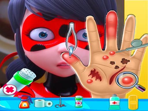 ladybug miraculous Hand Doctor  Fun Games for Gir