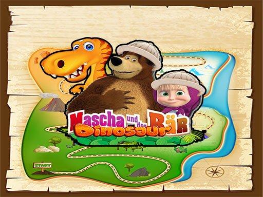 Masha and The Bear dinosaur