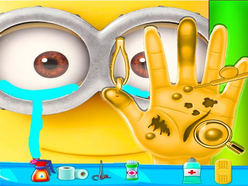Minion Hand Doctor Game Online  Hospital Surgery