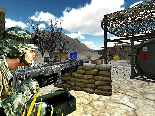 Modern Commando War : Counter Terrorist  Shoot 2k2