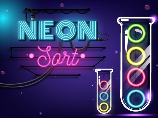 Neon Sort  Puzzle  Color Sort Game