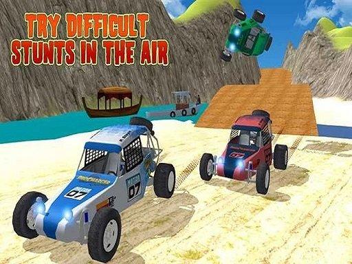 Offroad Kart Beach Stunt : Buggy Car Drive Game