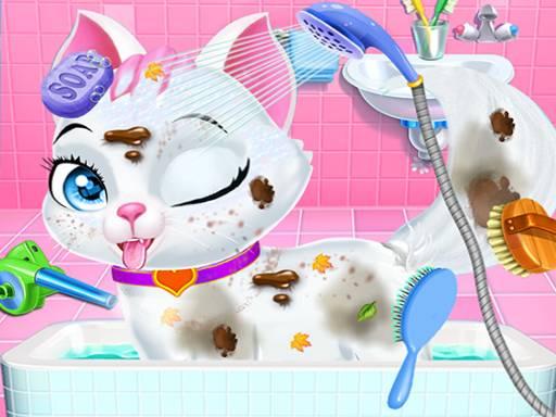 Pet Vet Care Wash Feed Animals  Animal Doctor Fun