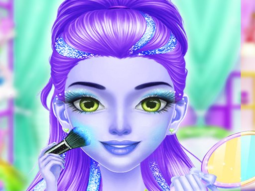 Princess Fashion Girl Dress Up  Makeup Salon