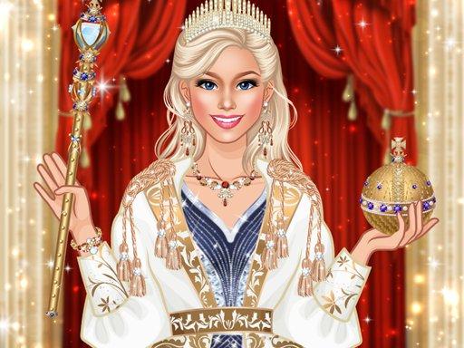Queen Fashion Salon - Royal Dress Up